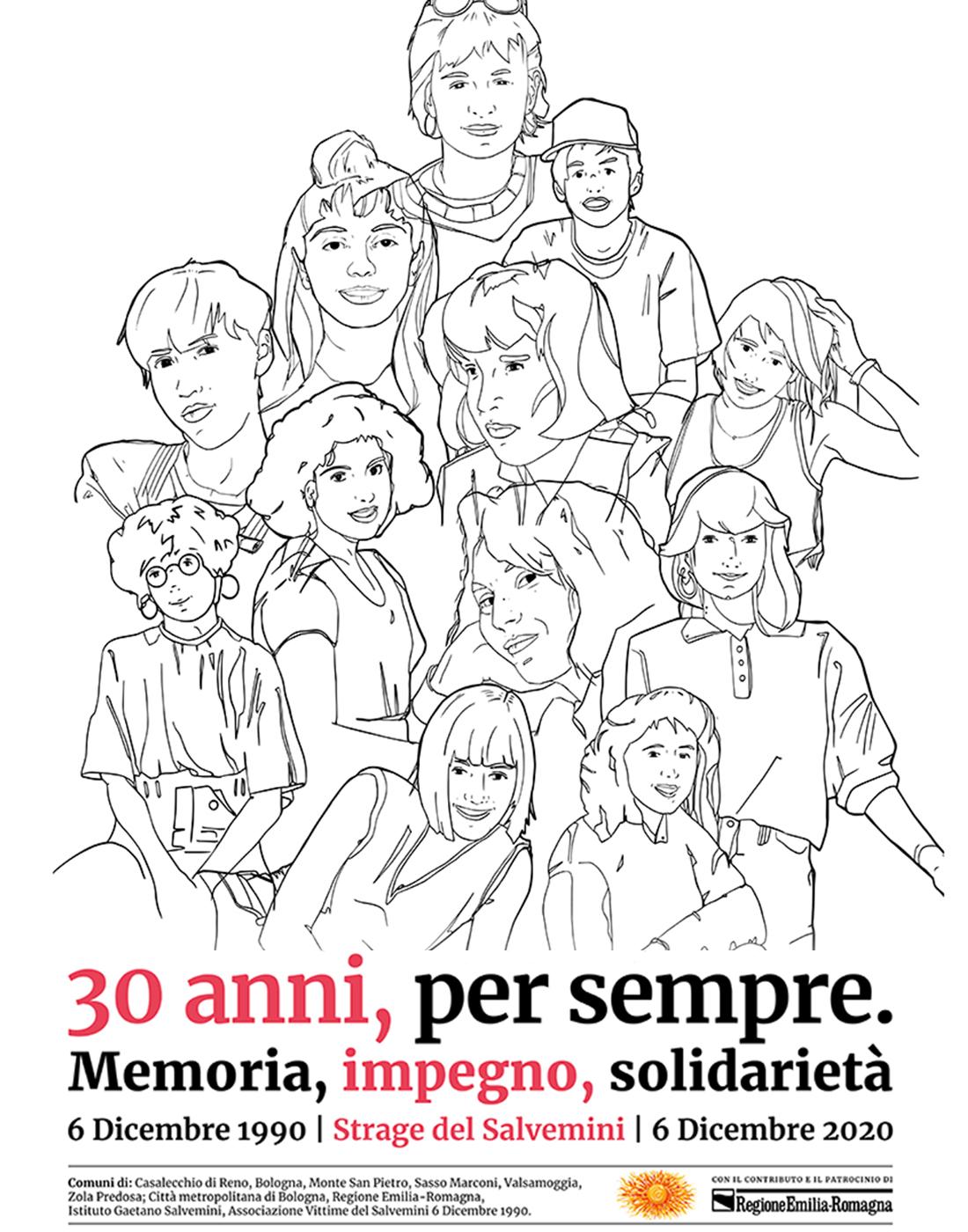 Strage del Salvemini, le iniziative per il 30° anniversario della tragedia che il 6 dicembre 1990 colpì la scuola di Casalecchio